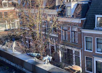 30 Turfmarkt 28 Leeuwarden uitzicht appartement